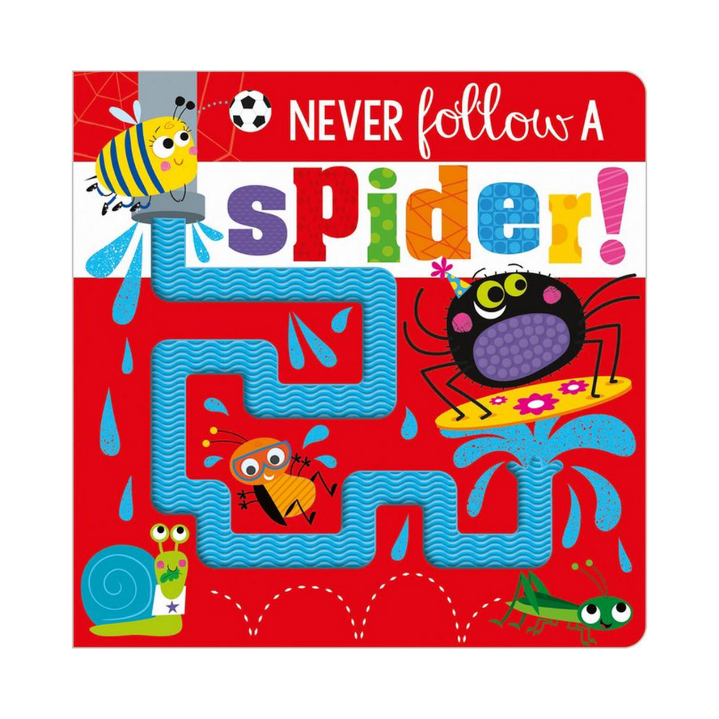Never Follow a Spider! (Board Book)