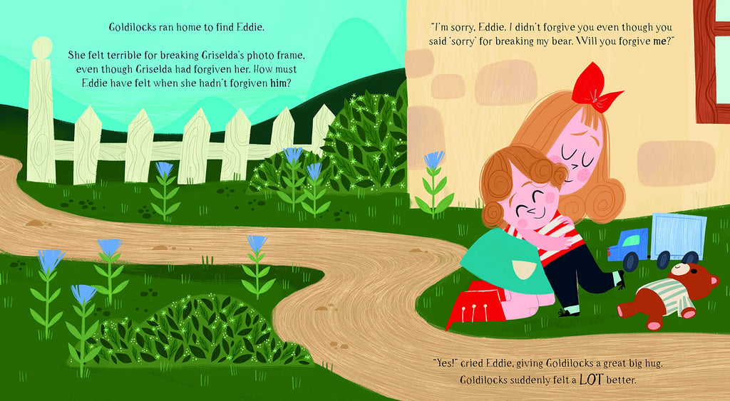 Fairytale Friends: Don't Be Cross Goldilocks - A Story About Forgiveness (Paperback)