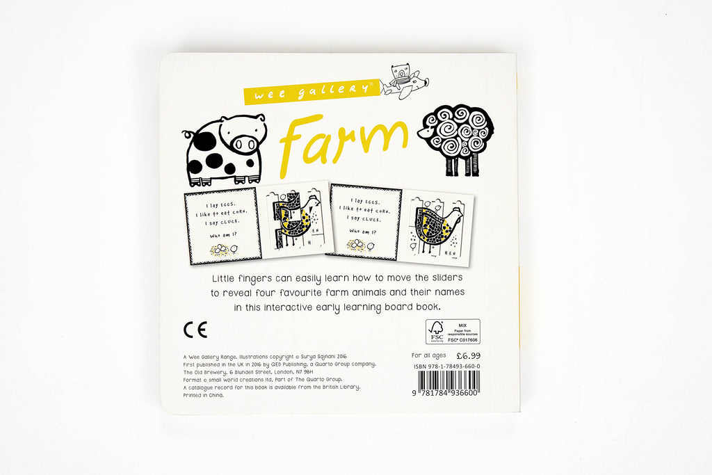 A Slide and Play Book: Farm (Board Book)