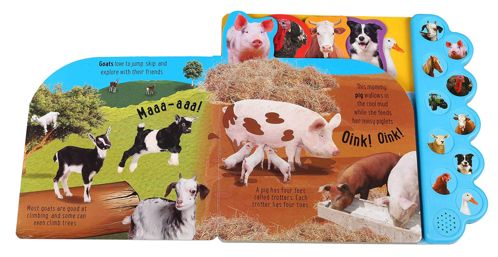 Sound Book: Oink on the Farm! (Board Book)
