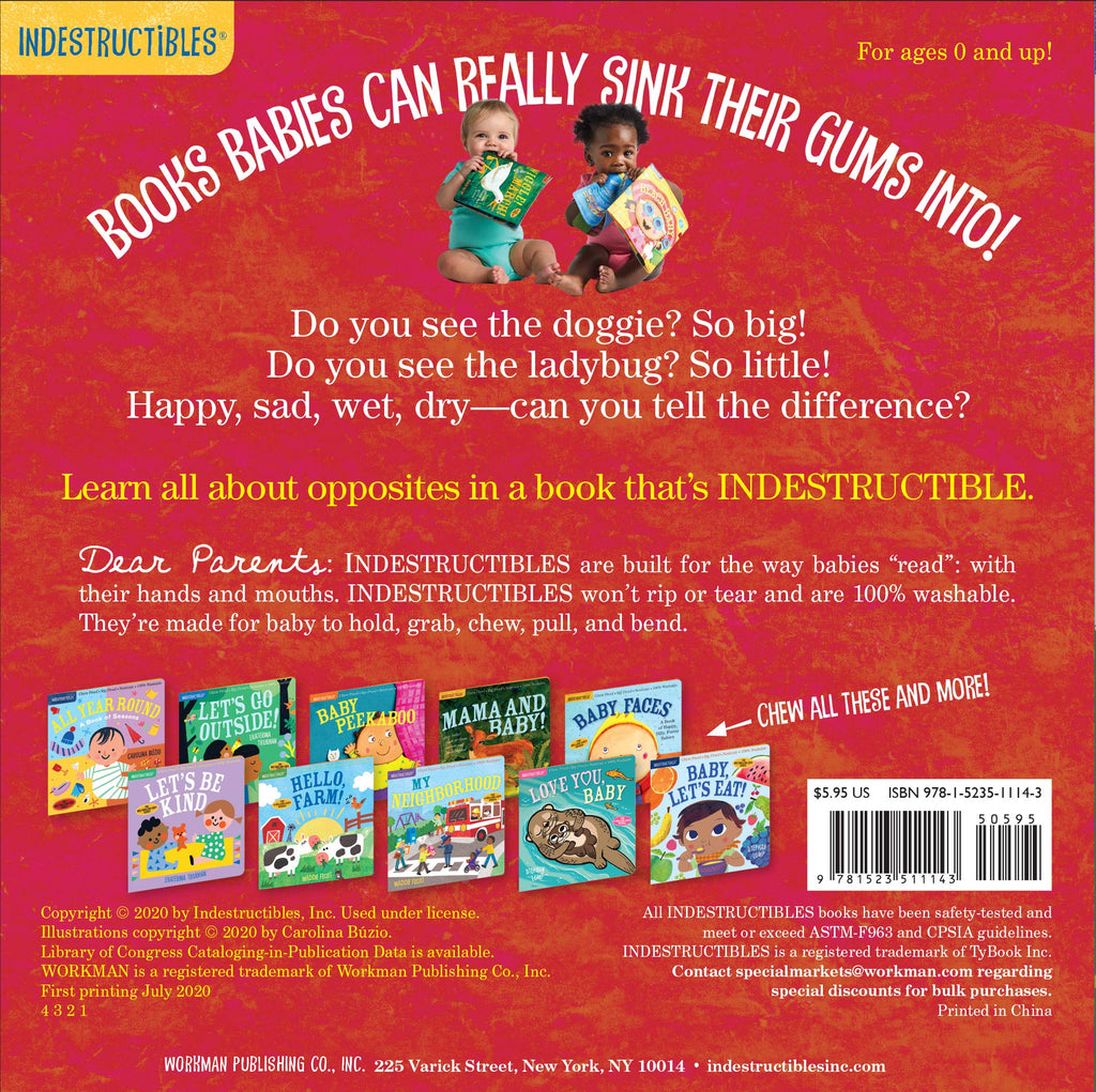 Indestructibles: Big and Little (Paperback)