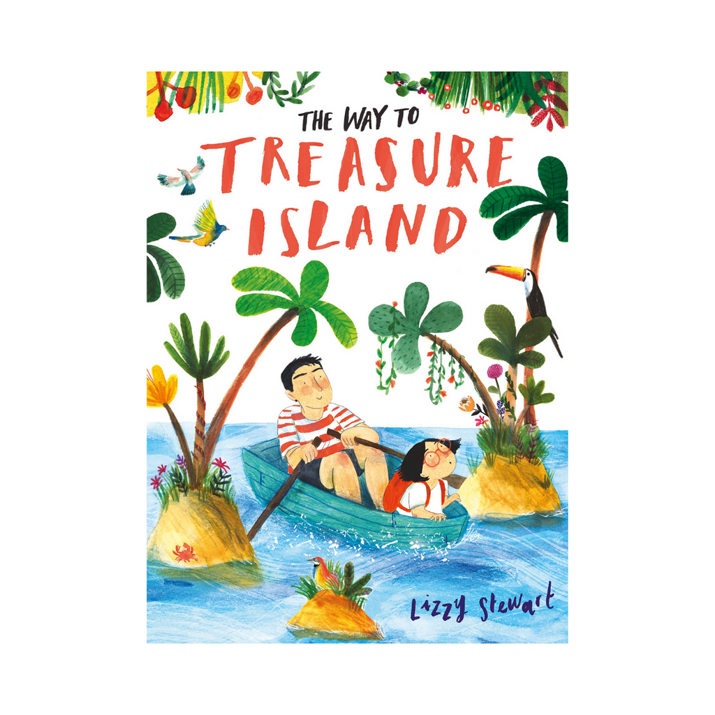 The Way To Treasure Island (Paperback) -  A Story About Accepting Differences In Personalities