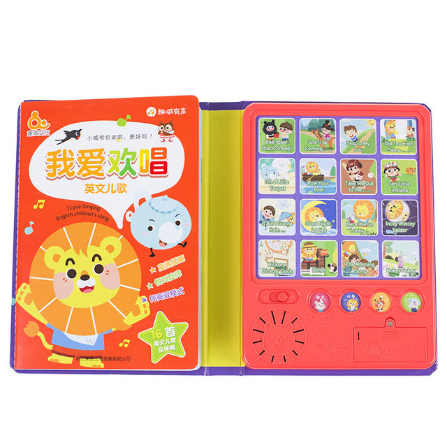 Sound Book : Mandarin Children Songs , 我爱欢唱中文儿歌