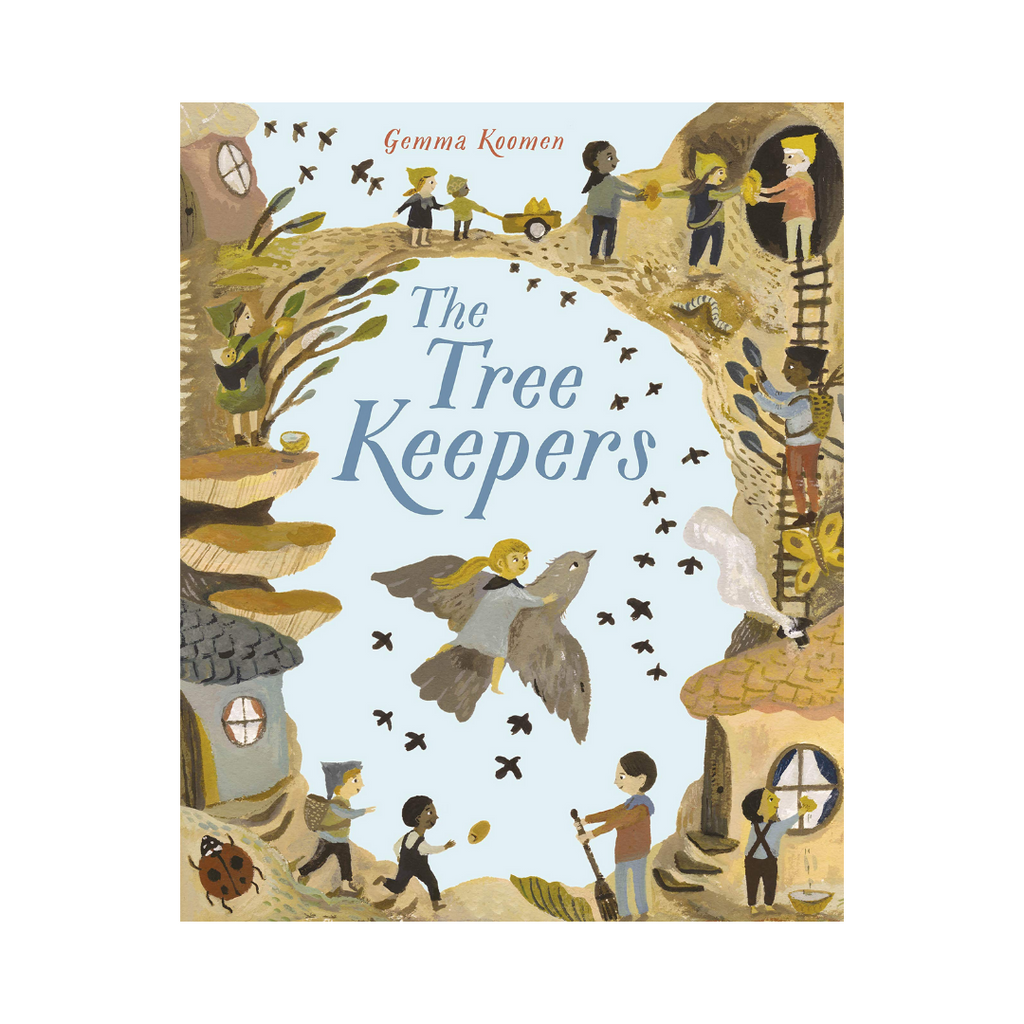The Tree Keepers: Flock (Paperback) - A Story About The Power Of Friendship, Confidence And Self-esteem.