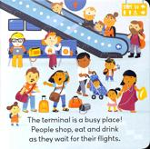 Little World: At the Airport (Board Book)