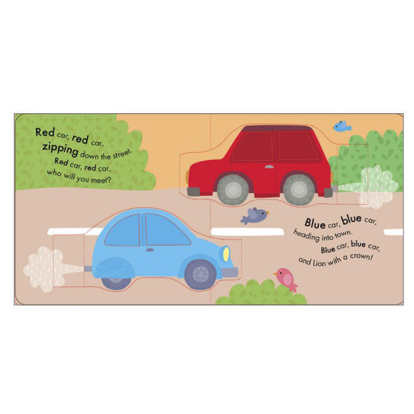 My Little World: Red Car, Blue Car: A Pop-Up Book of Colours (Board Book)