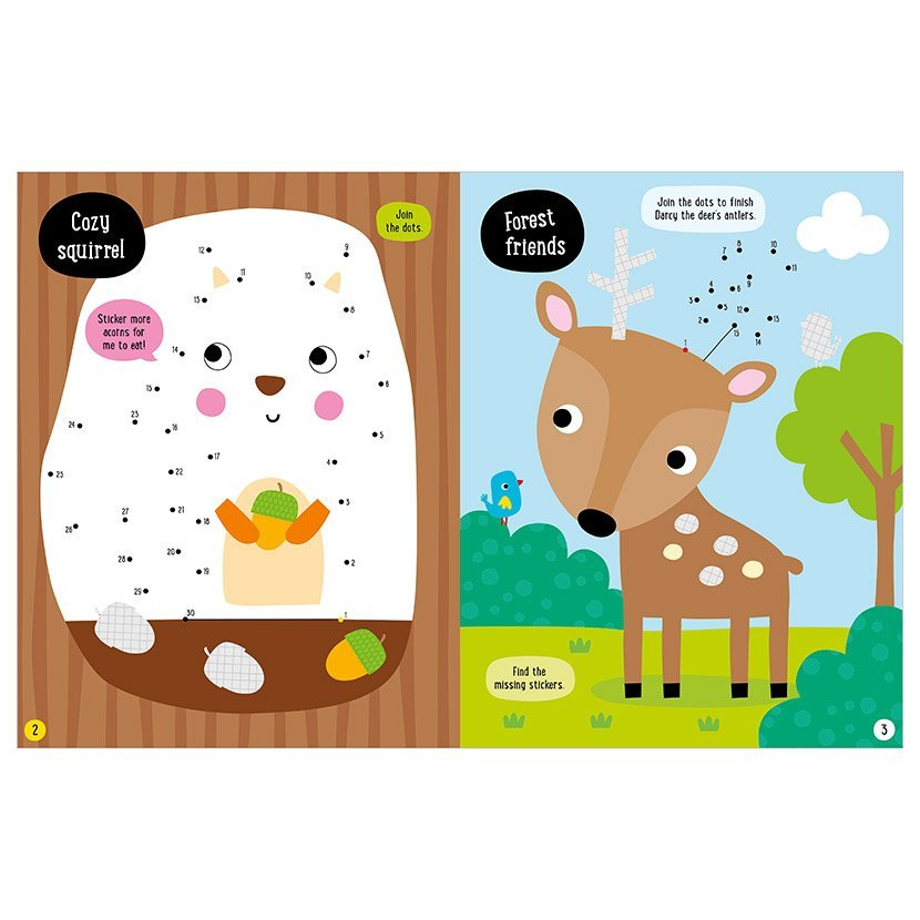 My First Stickers: Woodland Creatures (Paperback)
