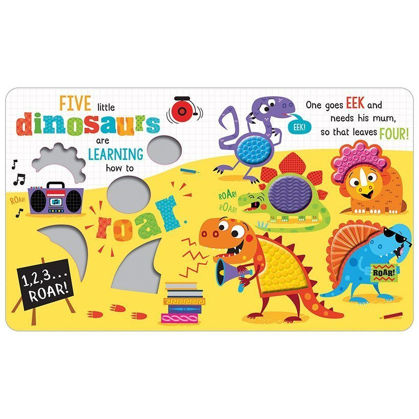 Never Touch The Dinosaurs (Board Book)