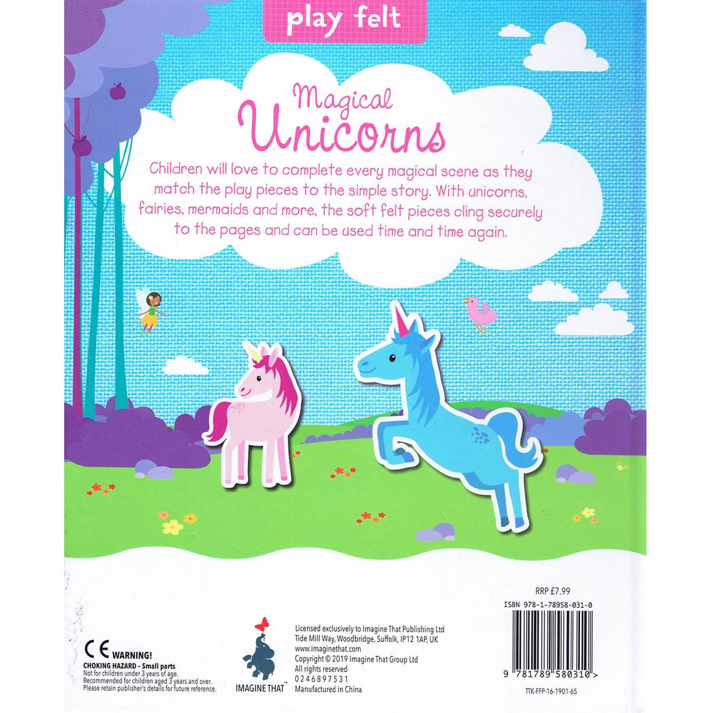 Soft Felt Play : Magical Unicorn (Hardback)