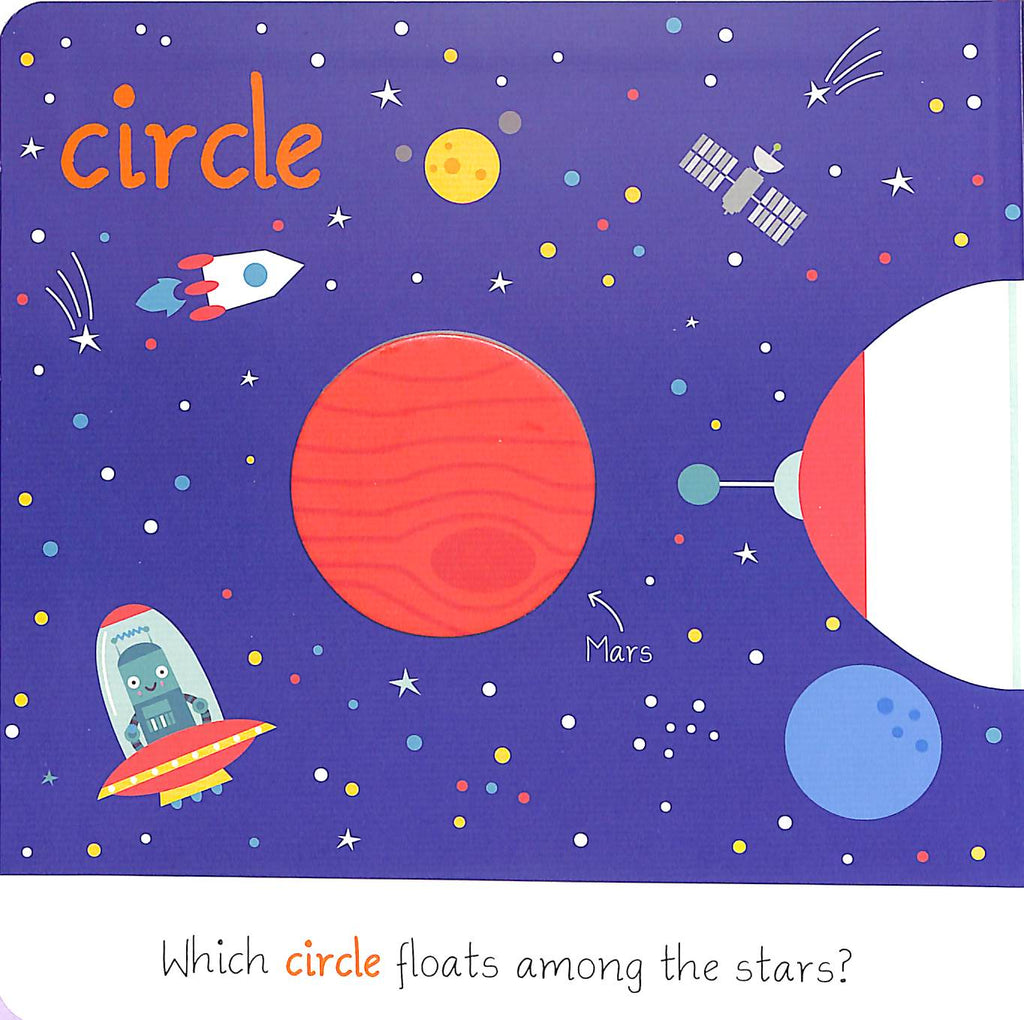 Circle & Square : Let's Learn Shapes (Board Book)