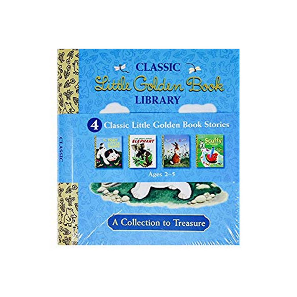 Classic Little Golden Book Library: 4 Book Box Set