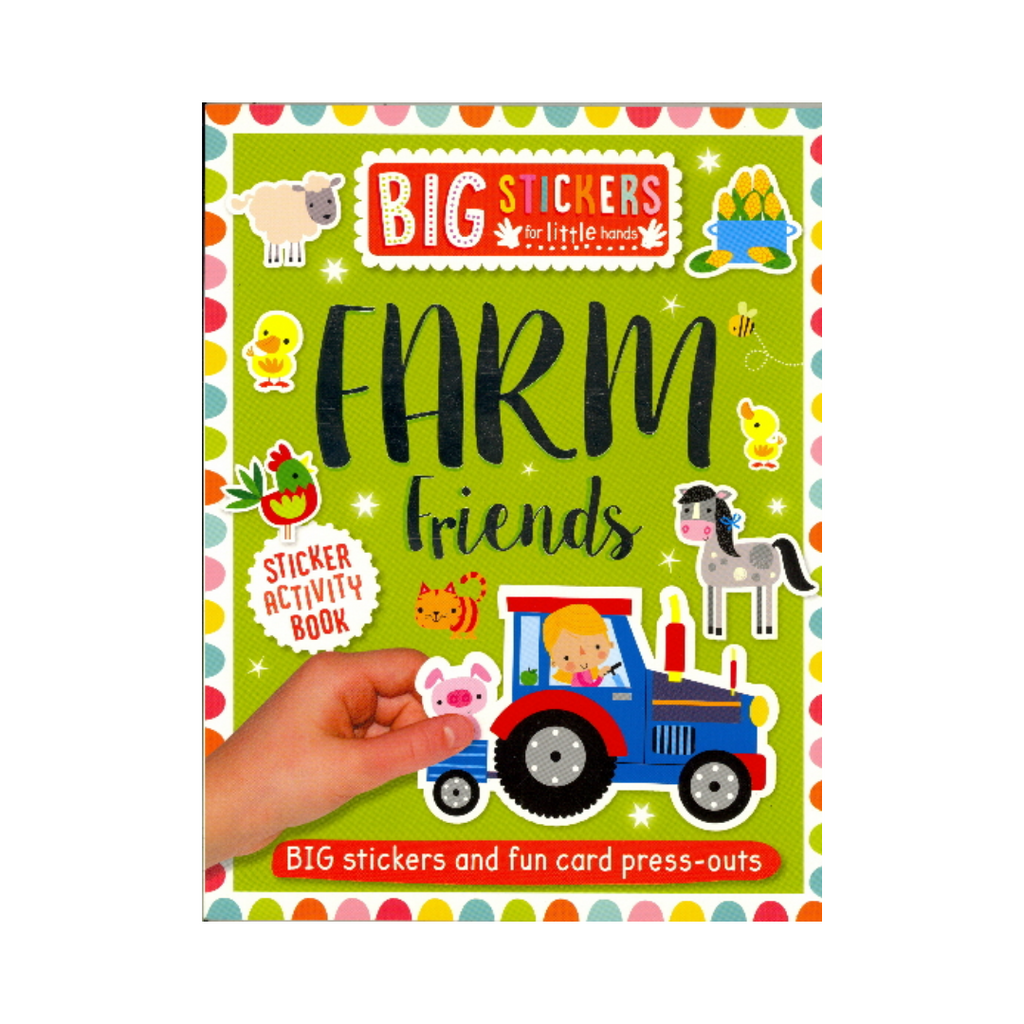 Big Stickers for Little Hands: Farm Friends (Paperback)