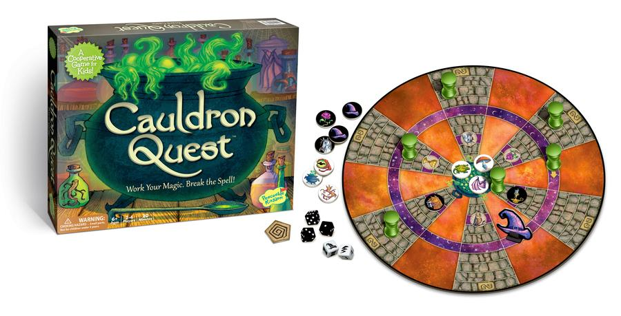 [Sale] *Peaceable Kingdom Cauldron Quest Cooperative Game