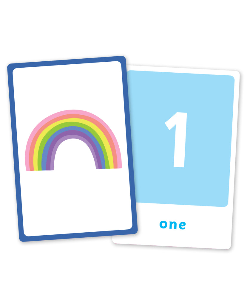 Junior Explorers: Large Flashcards: First Numbers (Flashcards)
