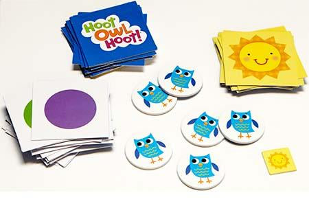 Peaceable Kingdom Hoot Owl Hoot Award Winning Cooperative Matching Game
