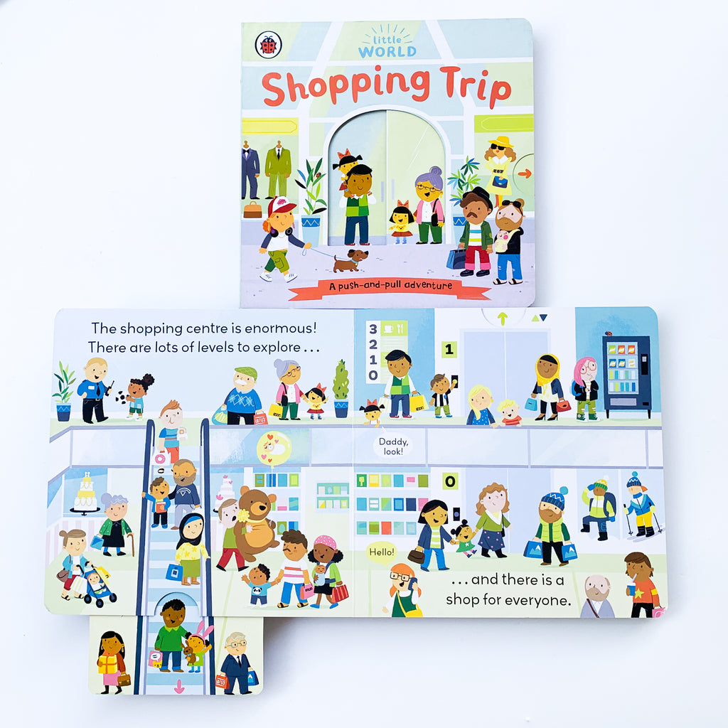 Little World: Shopping Trip (Board Book)