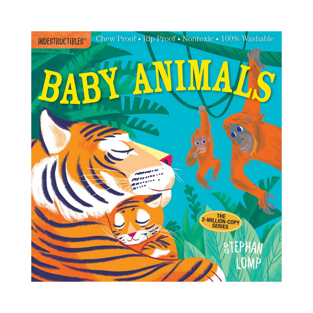 Indestructibles: Baby Animals (Paperback)