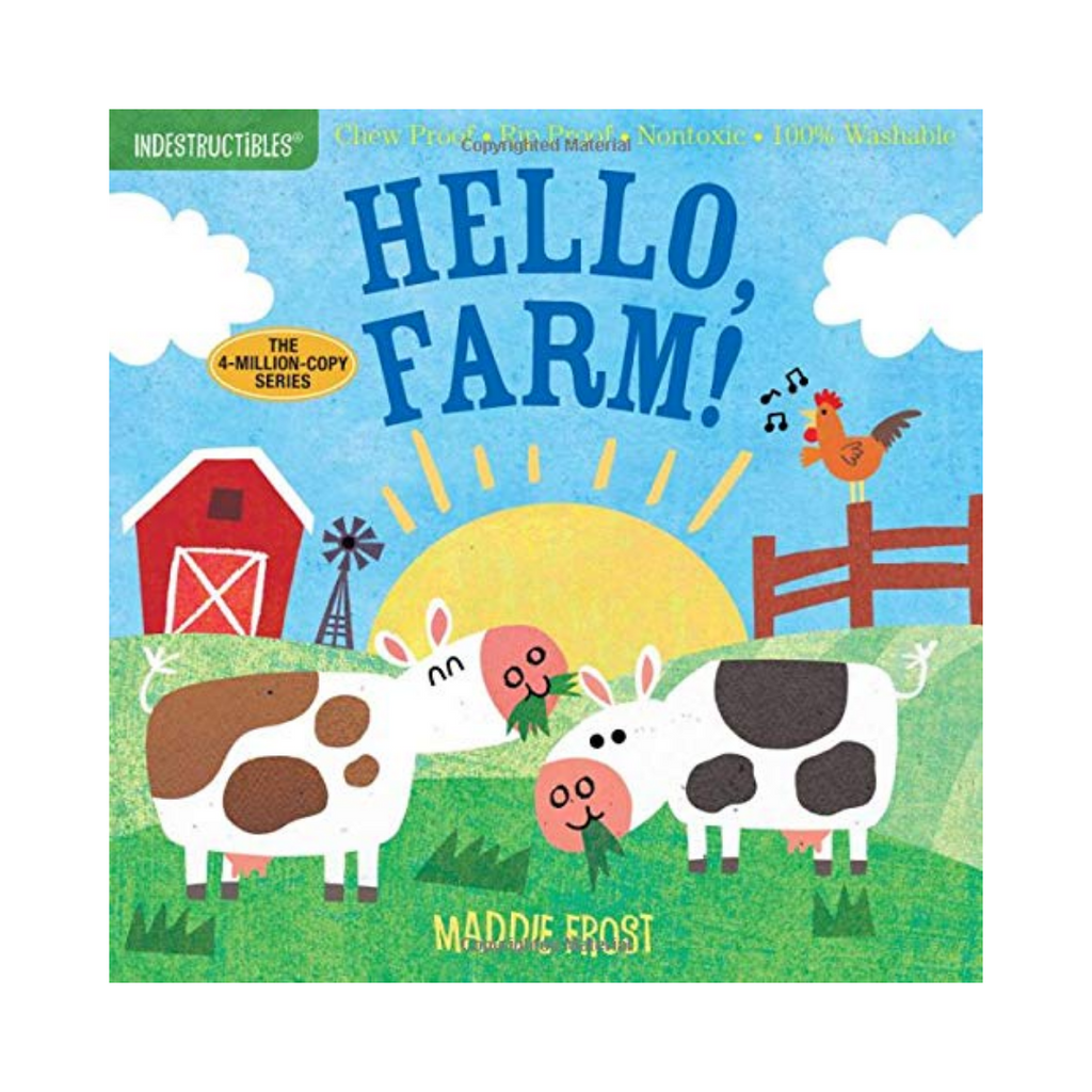 Indestructibles: Hello Farm! (Paperback)