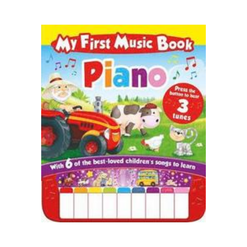 My First Piano Book - Sound Book (Hardback)