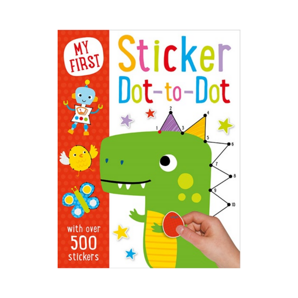 Press Out: My First Sticker Dot-To-Dot (Paperback)