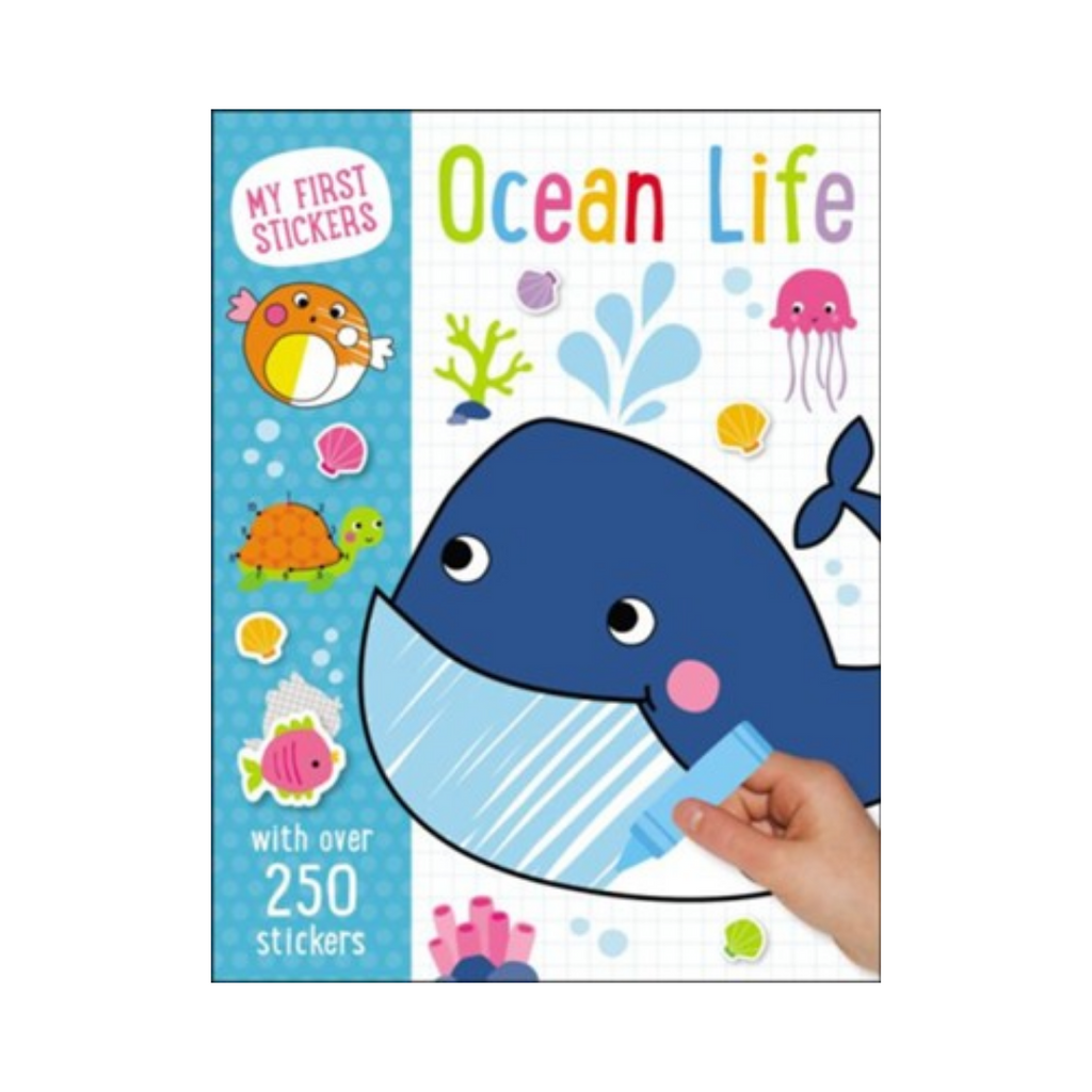 My First Stickers: Ocean Life (Paperback)