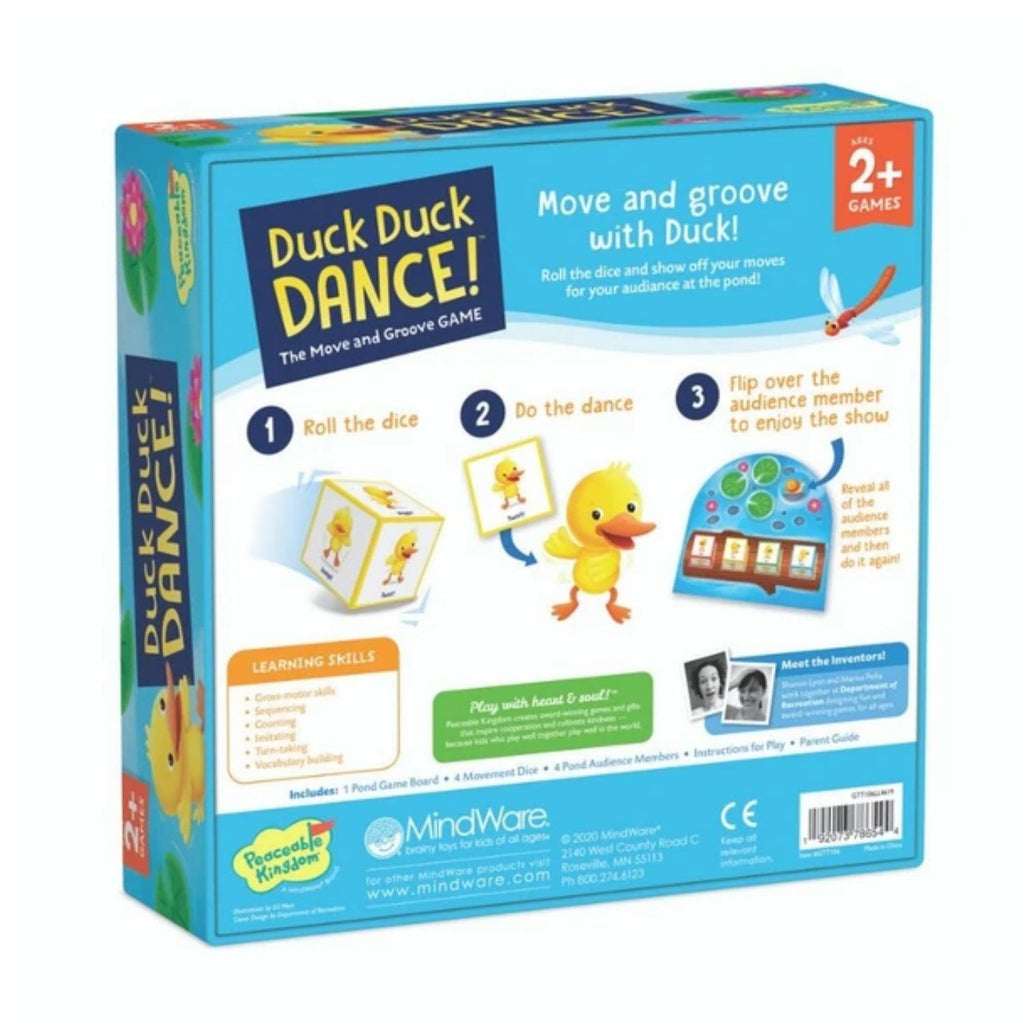 [Sale] *Peaceable Kingdom Duck Duck Dance: The Move & Groove Game
