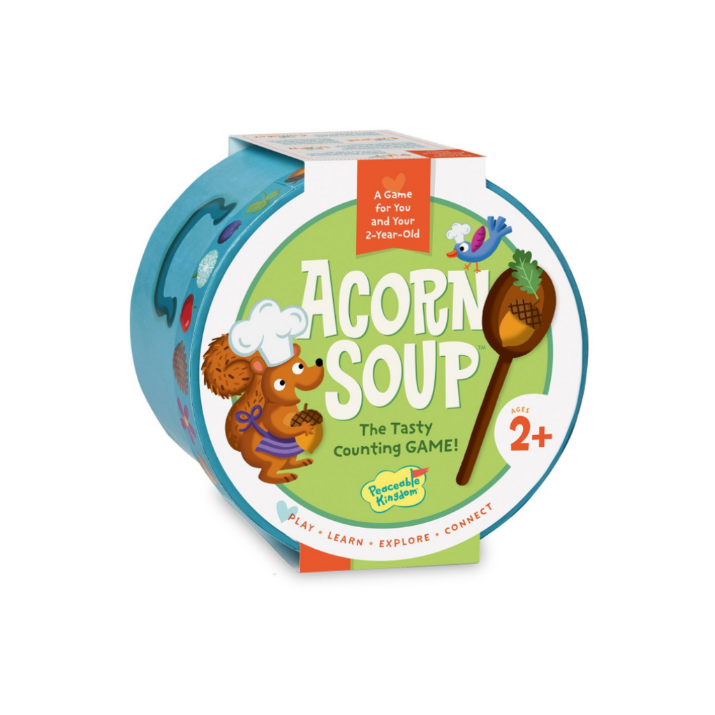 Peaceable Kingdom Acorn Soup: The Tasty Counting Game