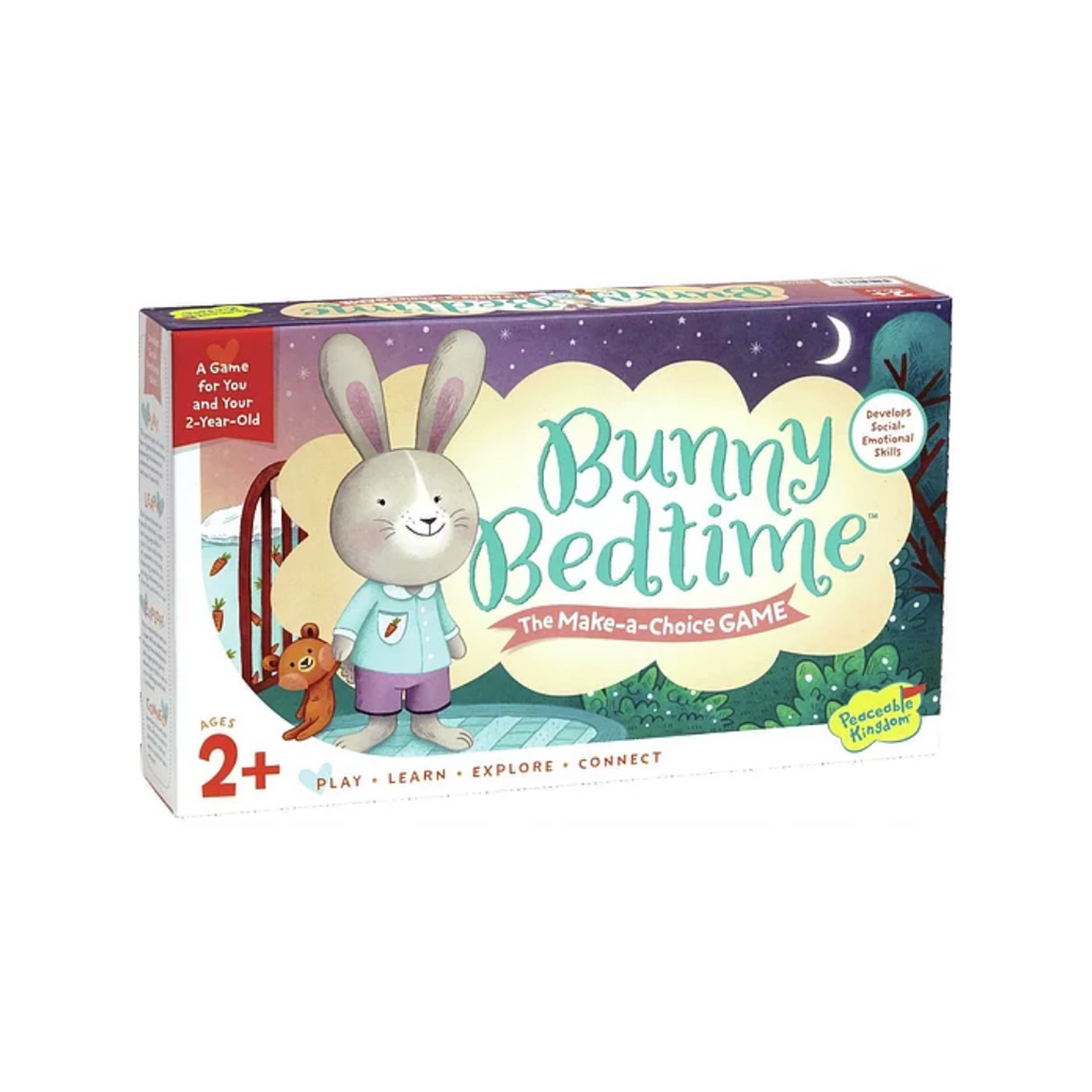 Peaceable Kingdom Bunny Bedtime: The Make-a-Choice Game