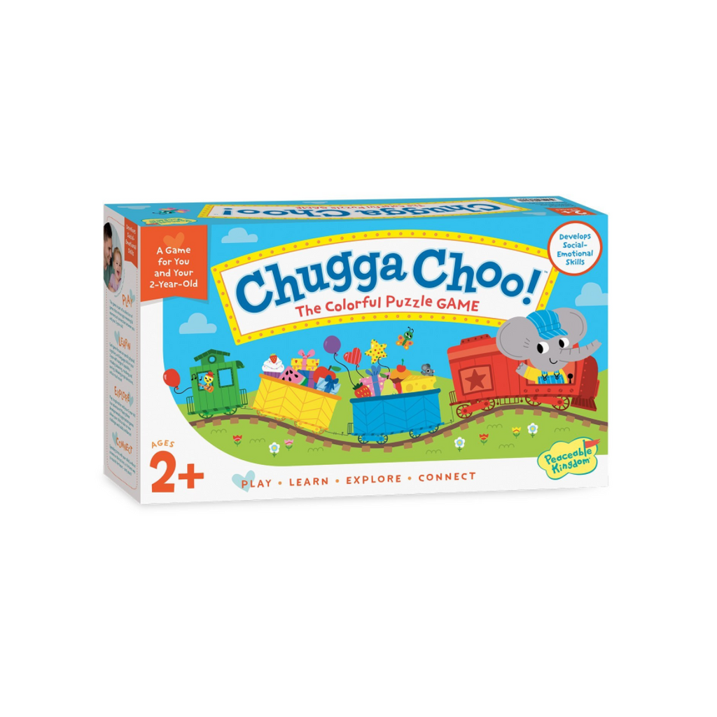 Peaceable Kingdom Chugga Choo! The Colorful Puzzle Game