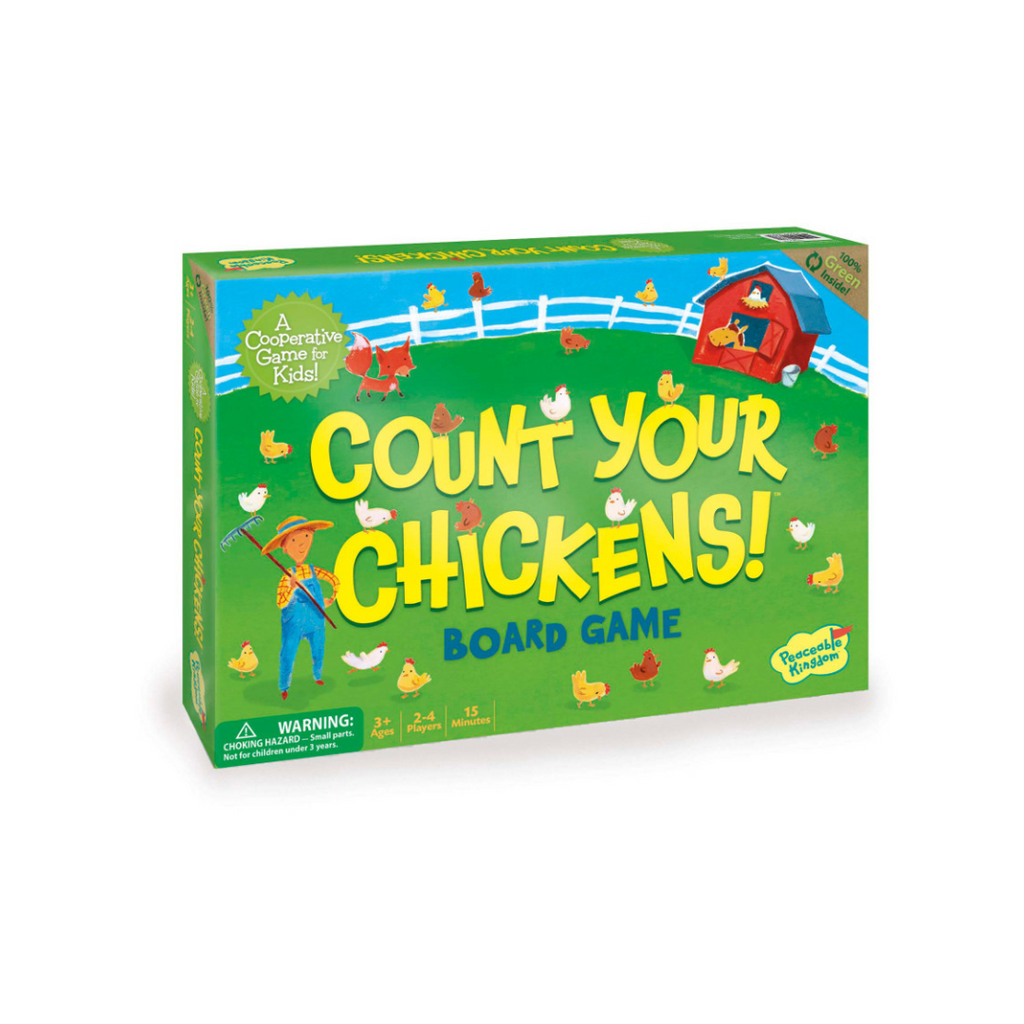 Peaceable Kingdom Count Your Chickens Cooperative Game
