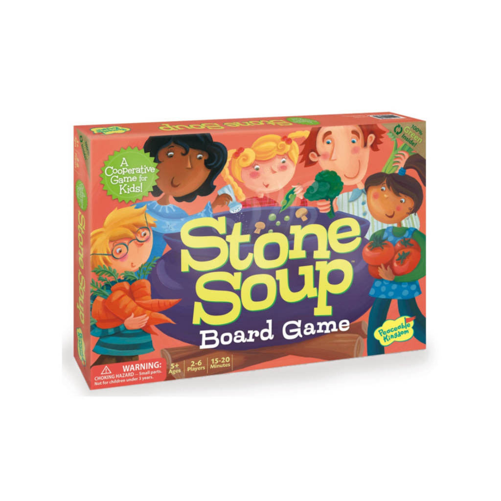 Peaceable Kingdom Stone Soup: A Cooperative Memory Game