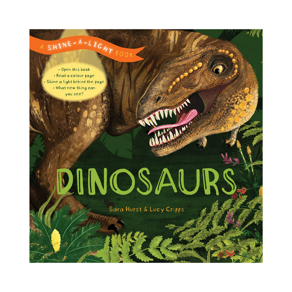 Shine-a-Light: Dinosaurs (Hardback)