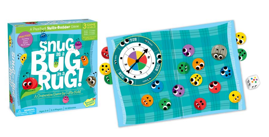 Peaceable Kingdom Snug as a Bug in a Rug Cooperative Game