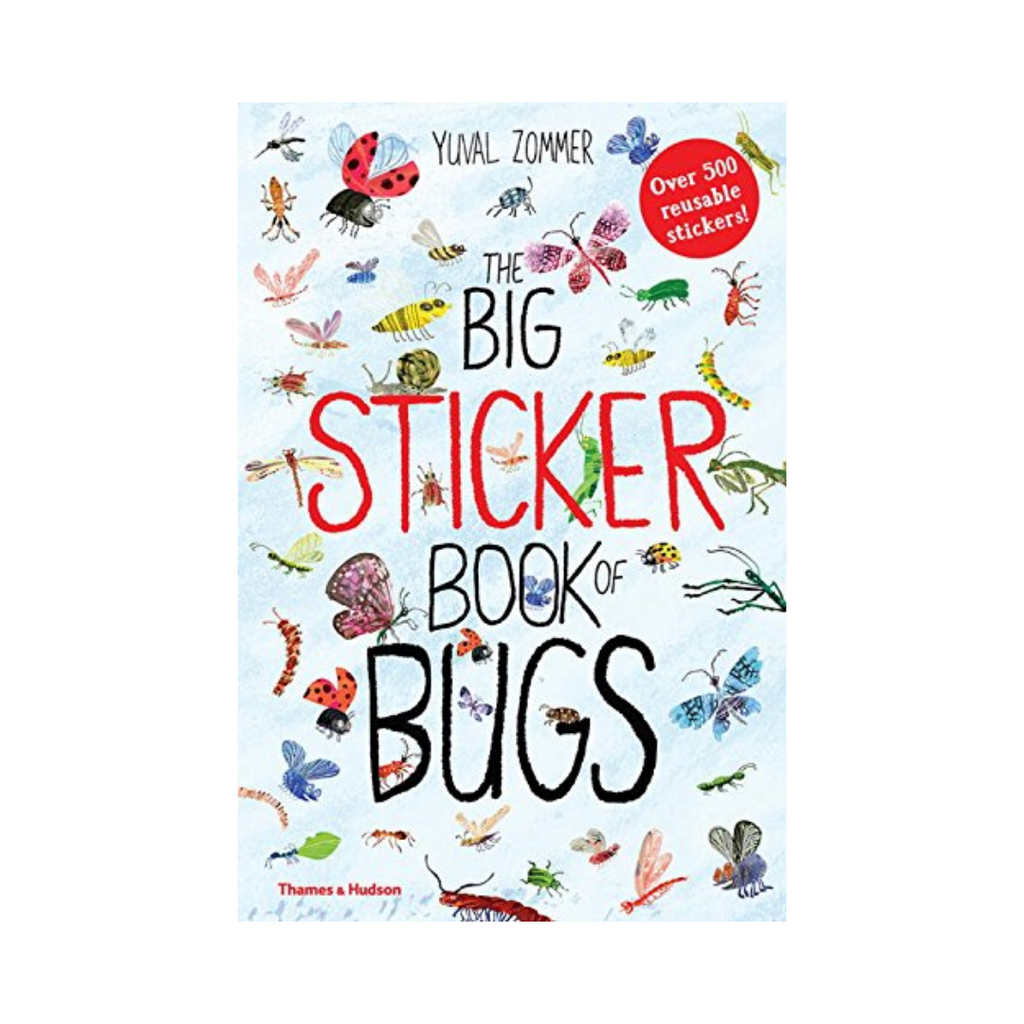 The Big Sticker Book of Bugs (Paperback)