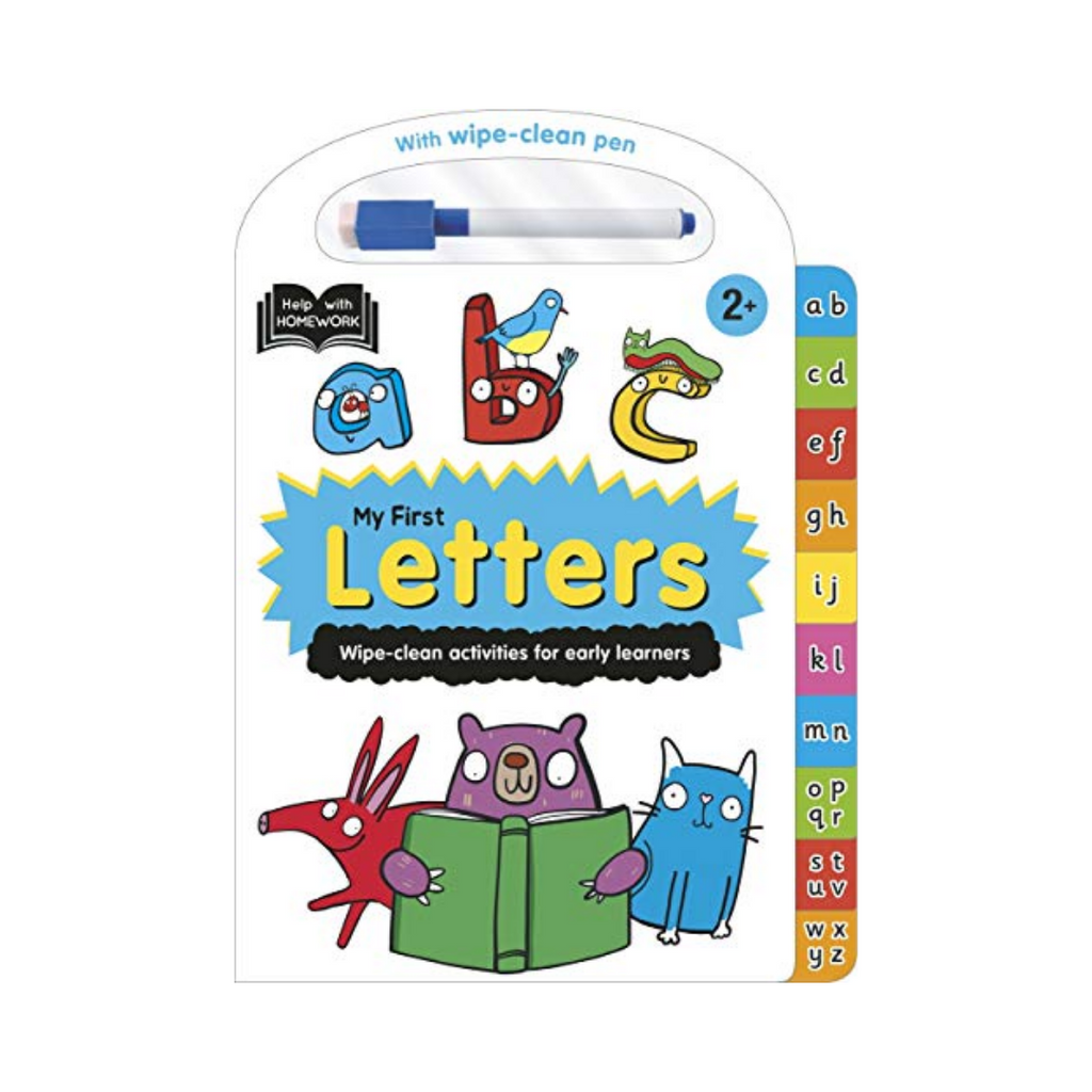 Help With Homework : My First Letters (Hardback)