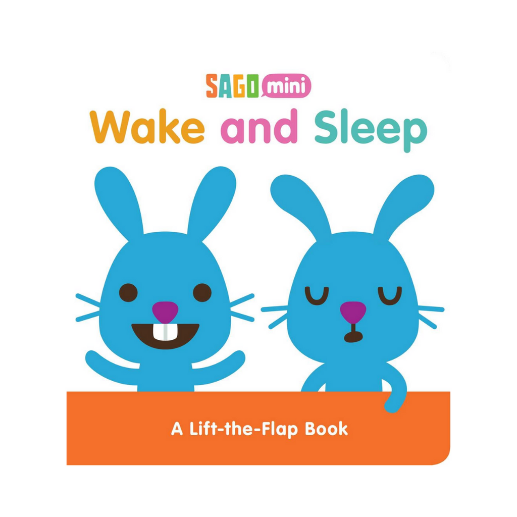 Wake and Sleep: A Lift-the-Flap Book (Board Book)
