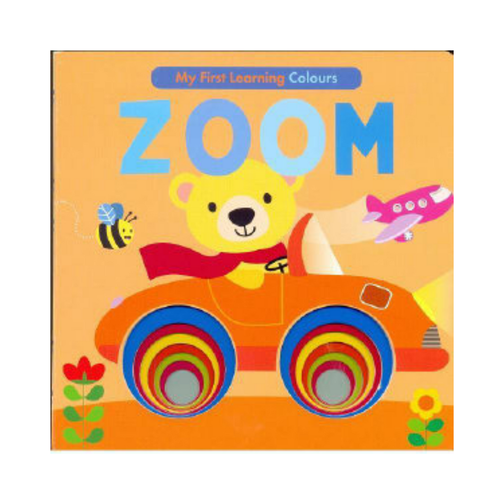 My First Learning: Zoom (Board Book)