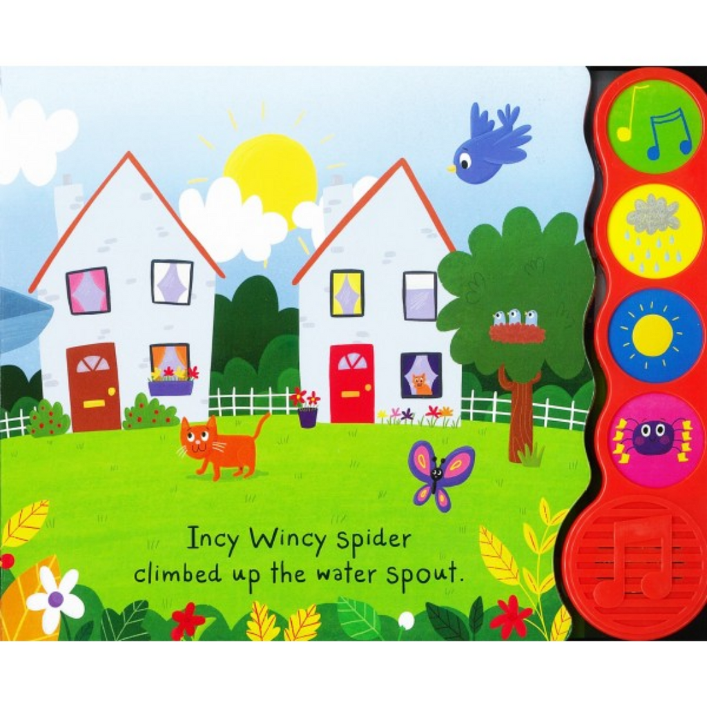 Sound Book: Incy Wincy Spider (Board Book)
