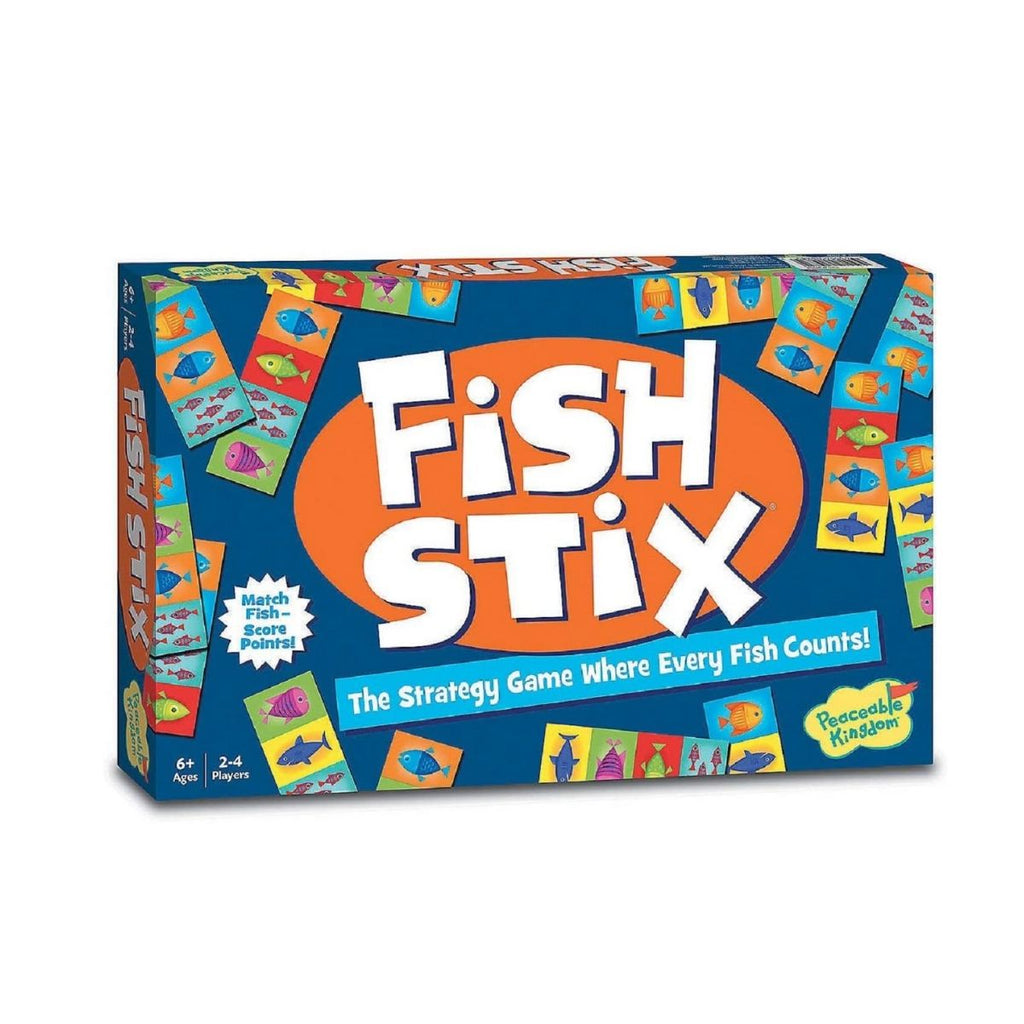 [Sale] *Peaceable Kingdom Fish Stix: The Strategy Game Where Every Fish Counts!