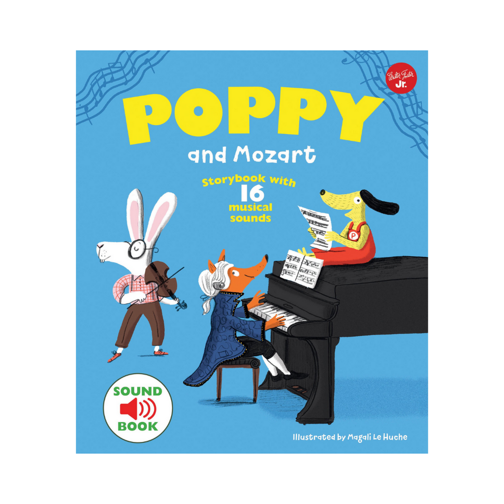Sound Book : Poppy And Mozart (Hardback)