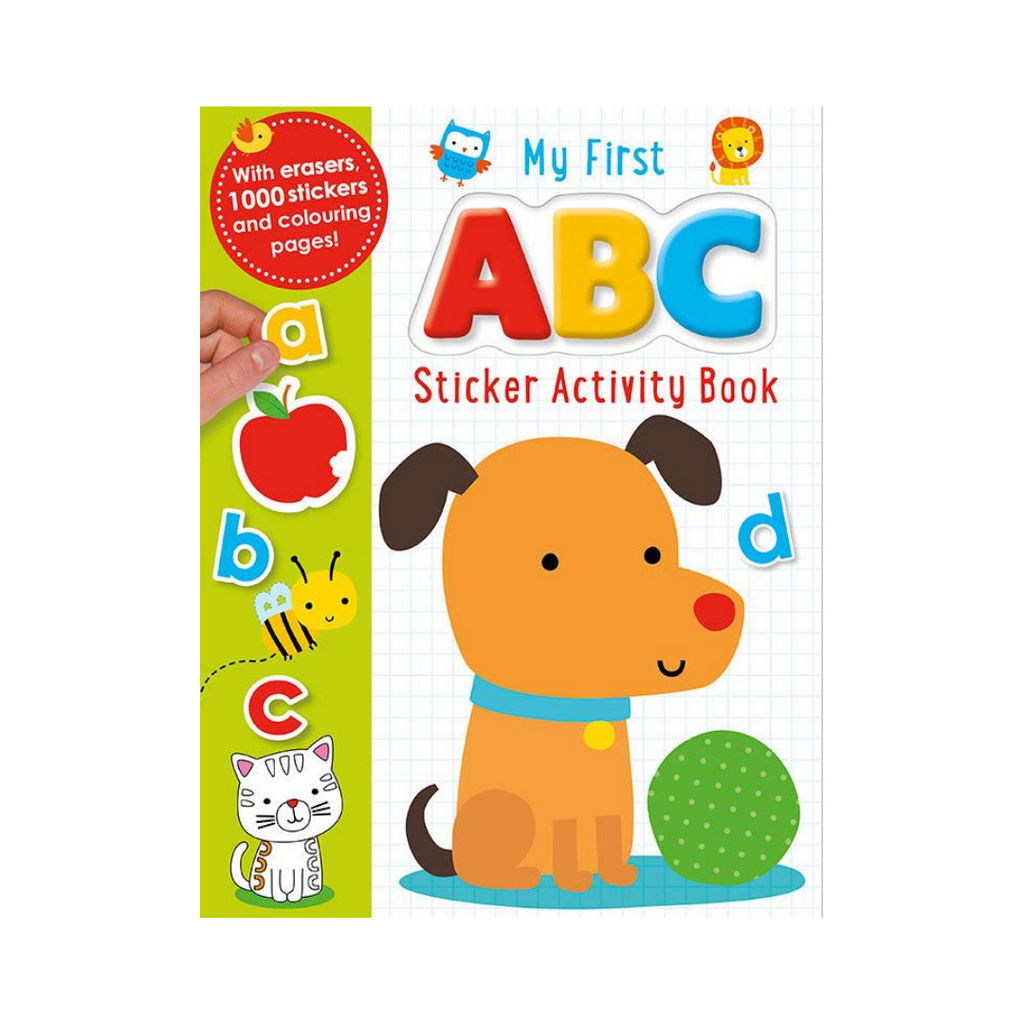 My First Stickers: ABC (Paperback)