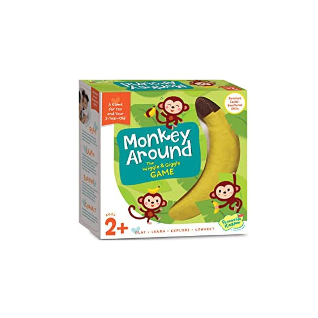 Peaceable Kingdom Monkey Around: The Wiggle & Giggle Game