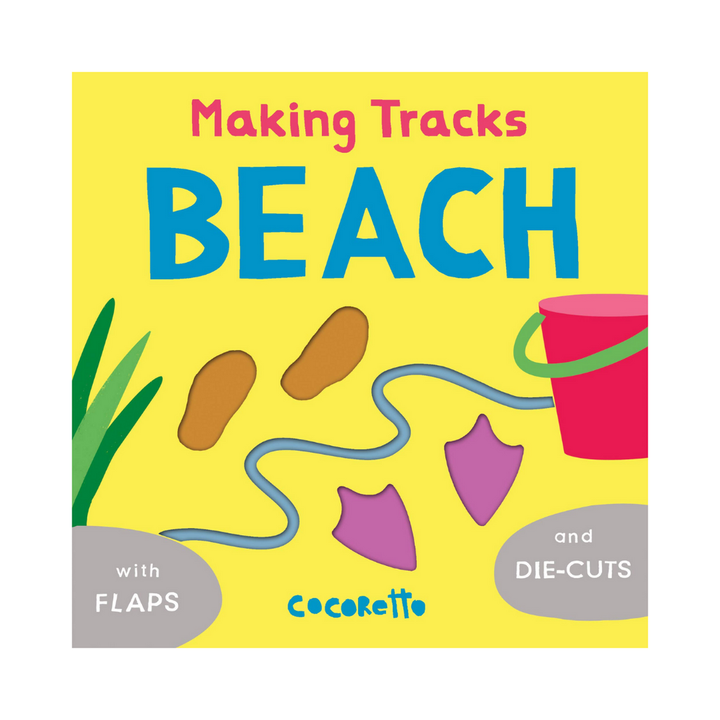 Making Tracks Beach (Board Book)