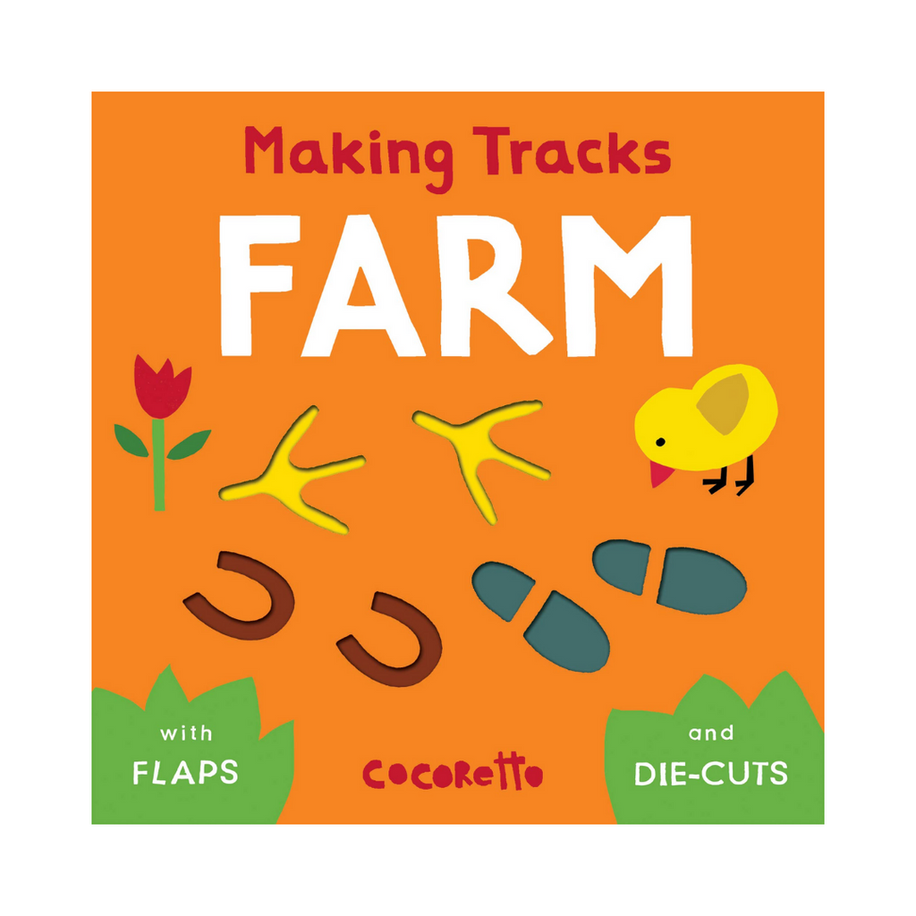 Making Tracks Farm (Board Book)