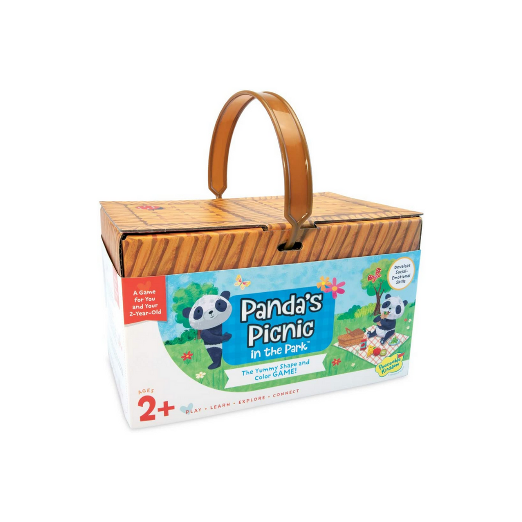 Peaceable Kingdom Panda's Picnic in The Park: The Yummy Shape & Colour Game