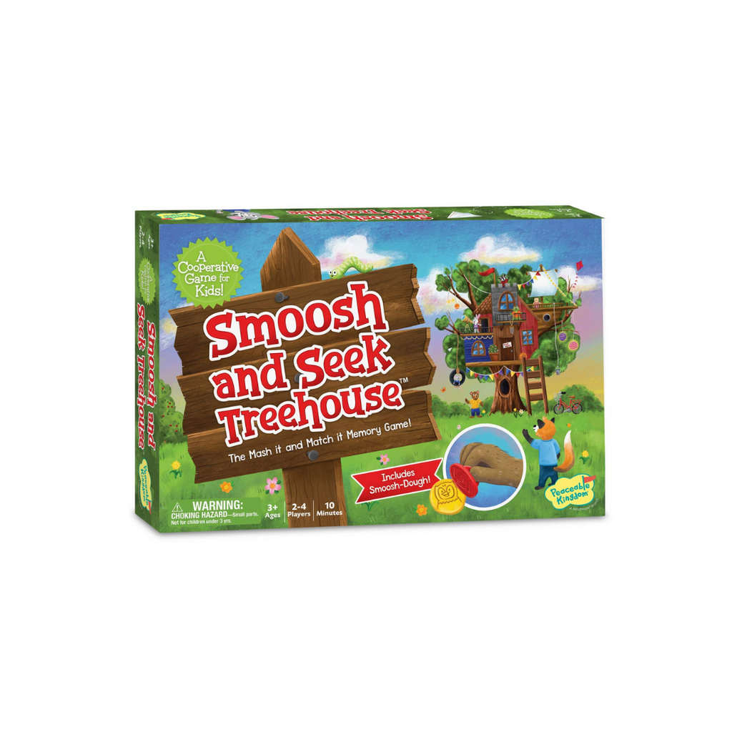Peaceable Kingdom Smoosh and Seek Treehouse: The Mash It & Match It Memory Game