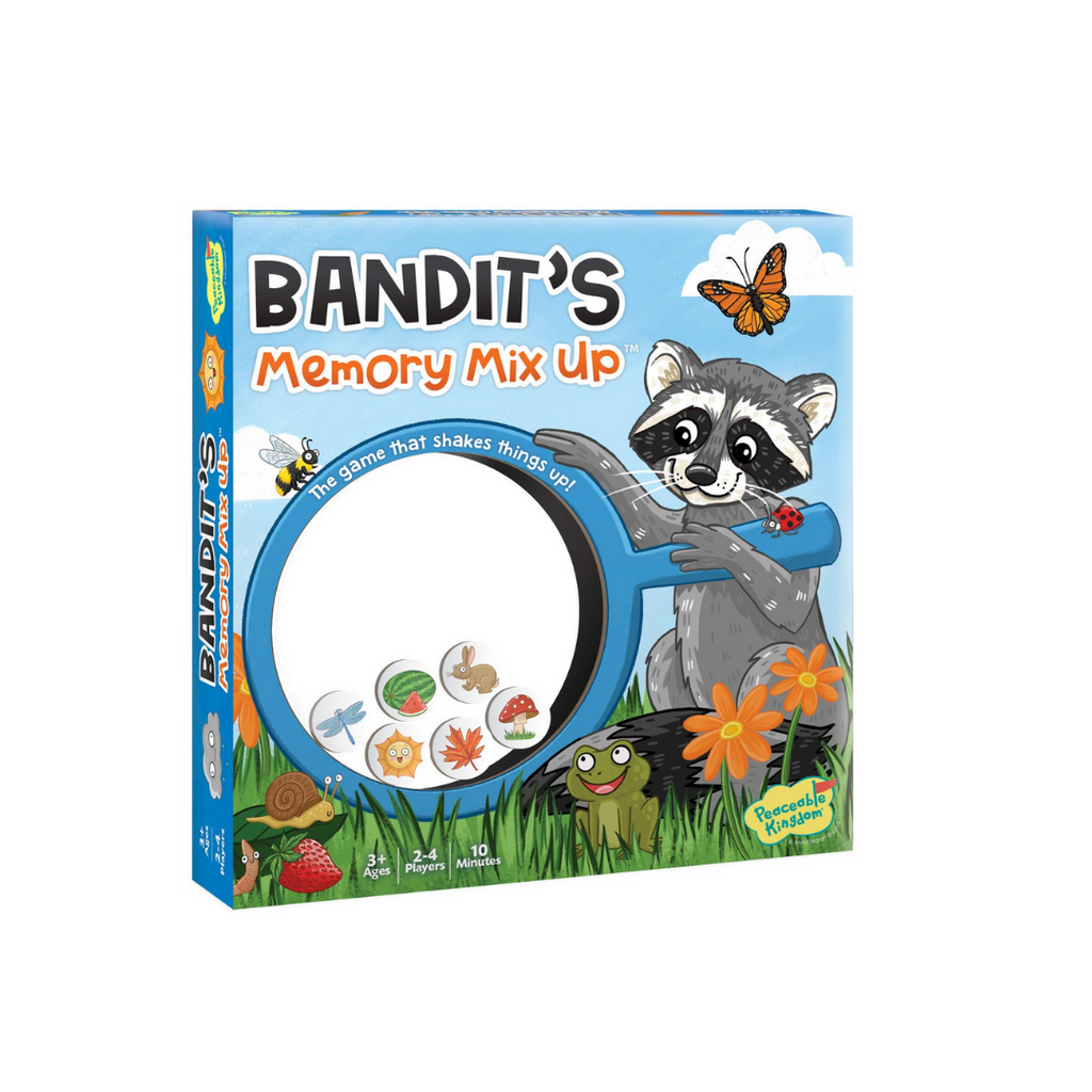 Peaceable Kingdom Bandit's Memory Mix-Up: The Game That Shakes Things Up