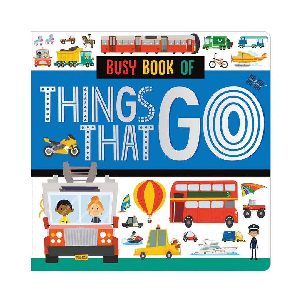 Busy Book of Things That Go (Board Book)