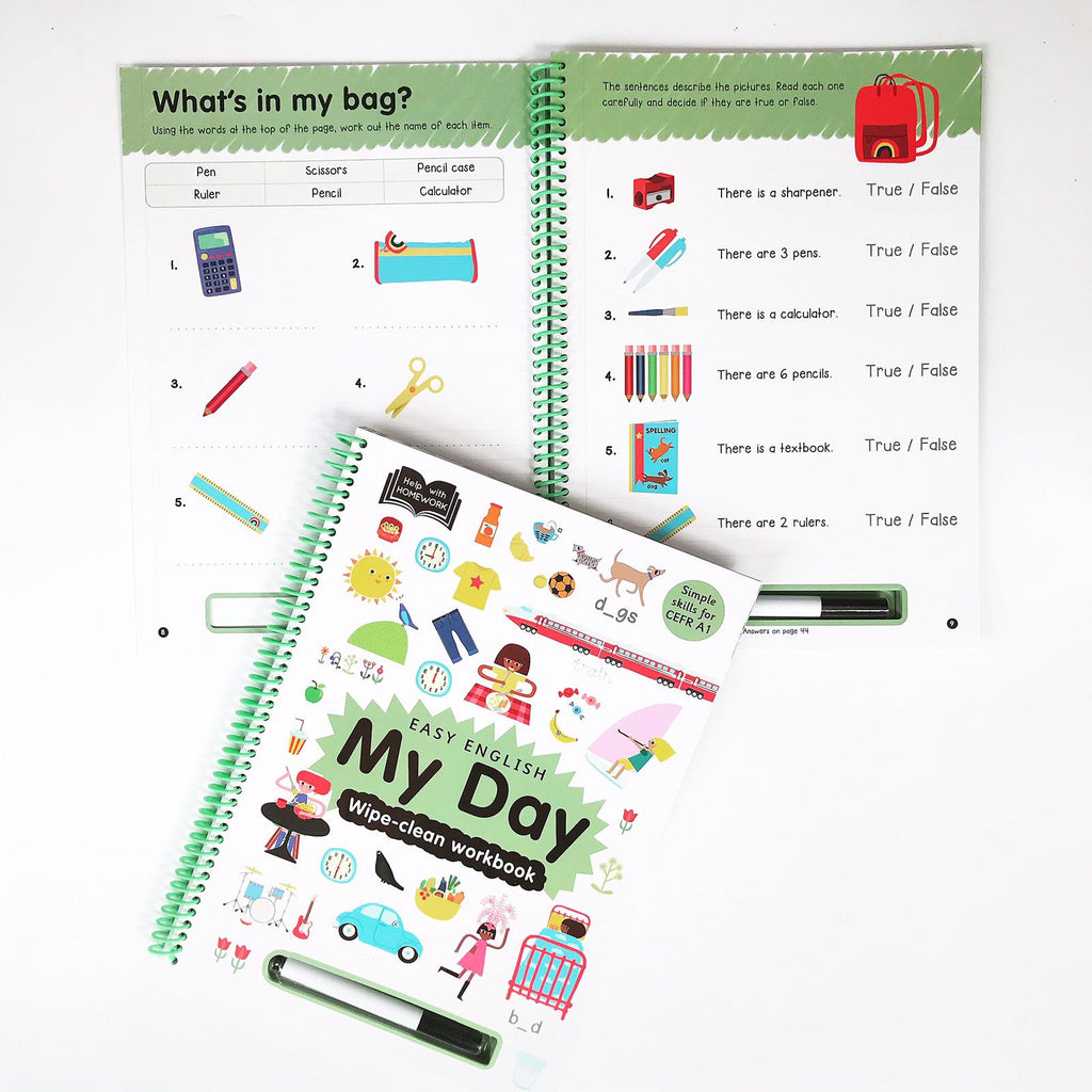 Help With Homework : My Day (Hardback)