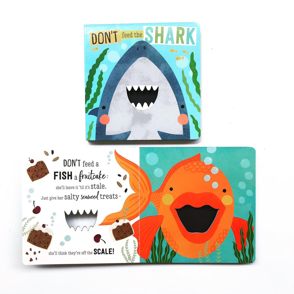 Don't Feed The Sharks (Board Book)